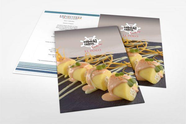 Imprenta Grafica Menu Carta Restaurant Lima Perú